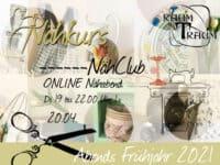 Nähkurs ONLINE Nähclub am 20.04.21 von 19 bis 22.00 Uhr