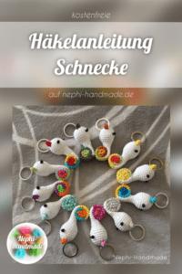 Häkelanleitung Schnecke / Rollschnecke