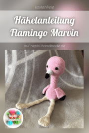 Häkelanleitung Flamingo Marvin