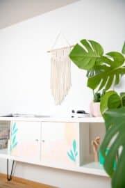 Sideboard günstig selber machen aus Ikea Kallax Regal