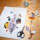 Vom Papierschnipsel zur Collage