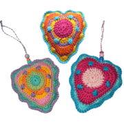 Herz: Taschenbaumler, Nadelkissen, Muttertagsgeschenk ...