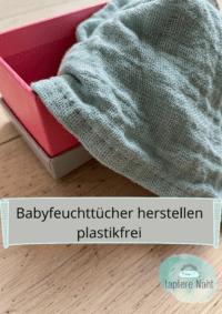 Babyfeuchttücher herstellen
