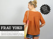 """Online-Workshop an einem Wochenende! Bluse """"Yoko"""" - Zuschneiden und Nähen"""