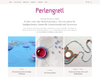 Perlengretl • Perlenstickerei   Bead Embroidery   Schmuck