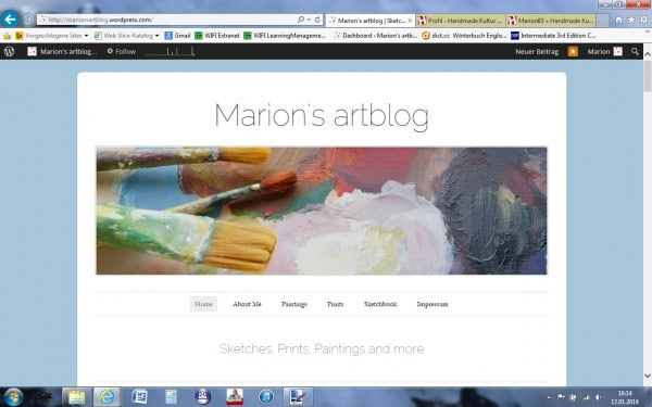 Marion's artblog