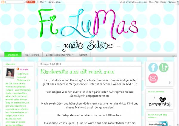 FiLuMas - genähte Schätze -